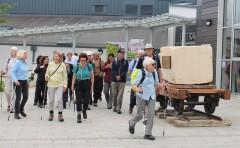 Hartham walk sets off